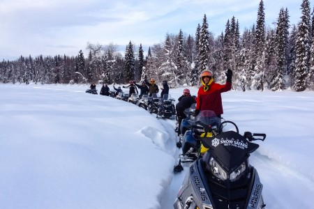 Alaska Backcountry Adventures Snowmachine Tours
