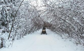 Snowmobiling snbl tunnel oxrmyj