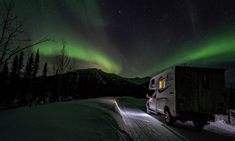 Alaska 4x4 rental serge march 2018 camper truck pgp6nx