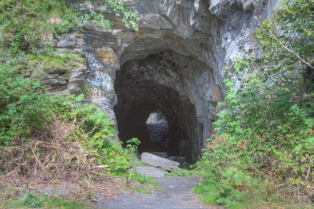 Old Railroad Tunnel (mi 18.9)