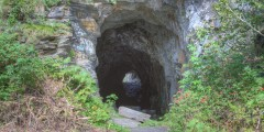 Old Railroad Tunnel (mi 18.9)