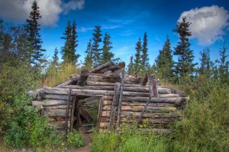 Old Sod-Roof Cabin (mi 29.9)