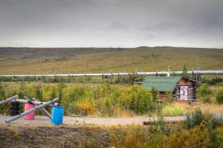 Site of Old Man Camp (mi 107.4)