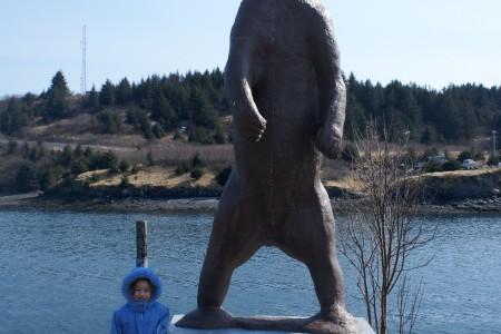 The Bronze Madsen Bear