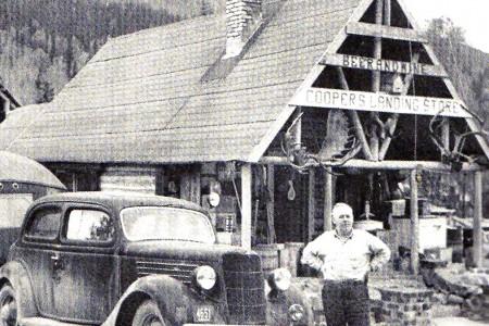 Historic Cooper Landing Post Office