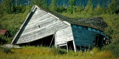 Old Portage Townsite: Victim of the 1964 Earthquake