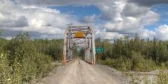 Lakina River Bridge (damaged)