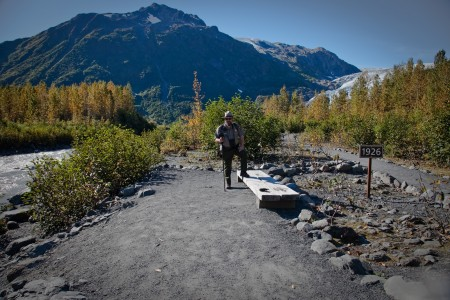 1926 Sign - Glacier View Trail