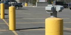 Electrical Outlets in Safeway Lot