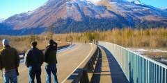 Exit Glacier Road Turnoff (mi 3.7)
