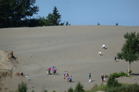 Kincaid Park Sand Dunes