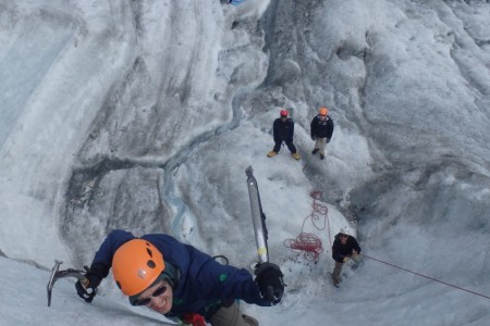 Kennicott Wilderness Guides Glacier Hike & Ice Climb