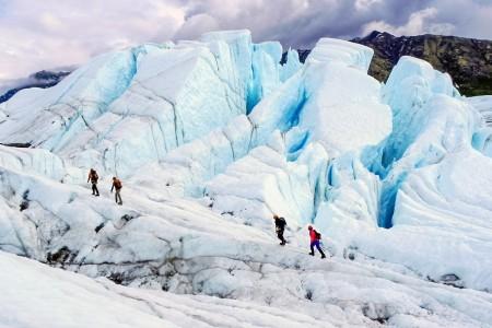 NOVA Alaska Guides Glacier Trekking & Ice Climbing