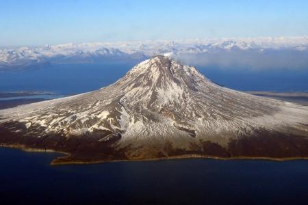 Mount Augustine Volcano