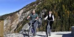 Biking at Denali Park Village