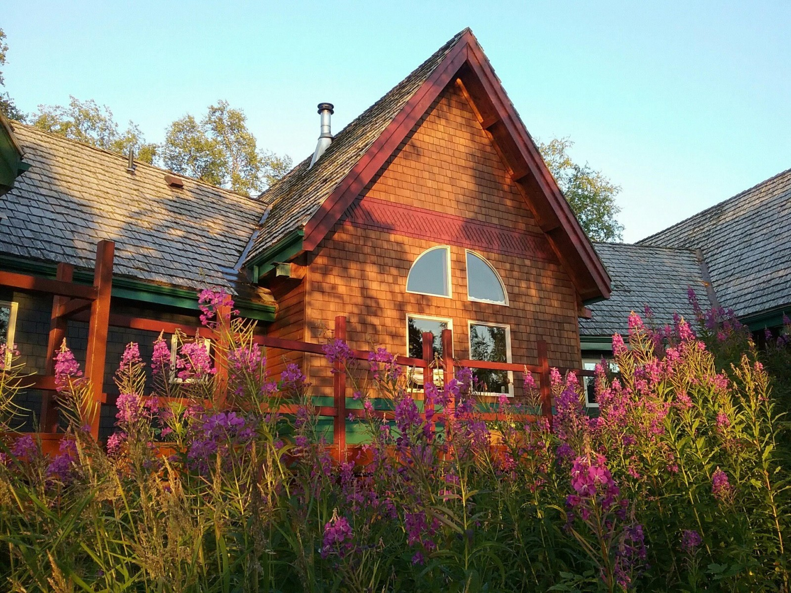 Ridgewood Wilderness Lodge Scenic Accommodations Alaska Org