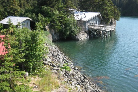 Alaska Dancing Eagles Vacation Cabin Rental