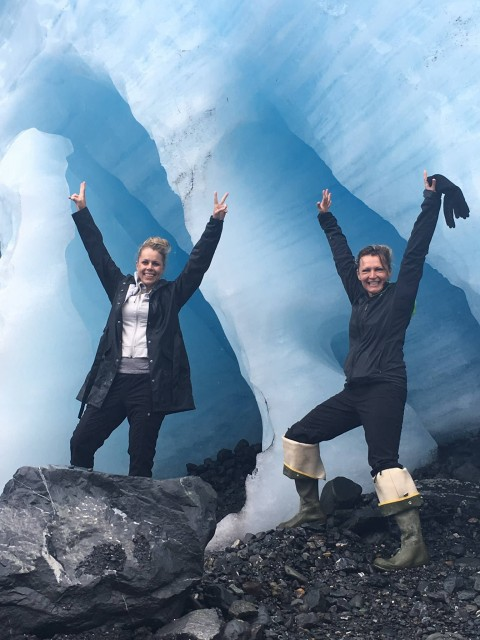 Explore the Harding ice Field