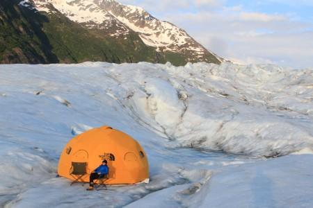 Ascending Path – Ultimate Glacier Overnight Camping Adventure