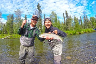 Pike trout day float adventure package trout pike adventure