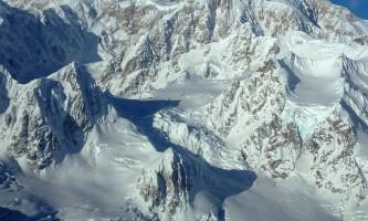 Backcountry Flightseeing Denali mountain view