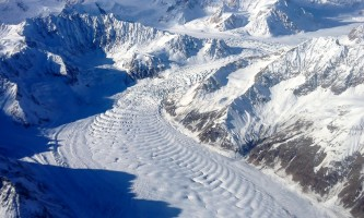 Backcountry Flightseeing glacier