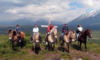 Alaska by air horseback riding Horses VA