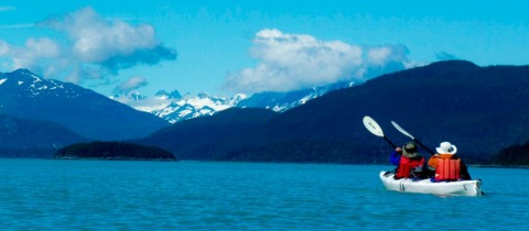 Paddle in the Chilkat Inlet. Tours depart from Haines and Skagway