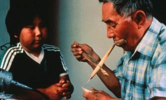 Alaska Native Heritage Center Native Manworking2019