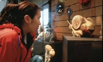 Alaska Native Heritage Center Native Statue2019