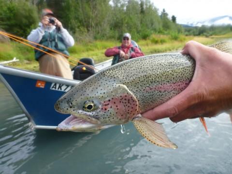 Cast a line in Cooper Landing with Alaska River Adventures
