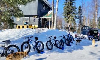 Alaska trail guides Snow Hook House