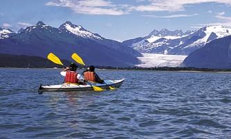 Glacier view sea kayaking juneau kayak 3 Alaska Travel Adventures