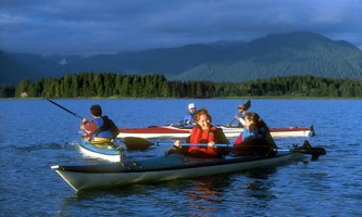 Glacier view sea kayaking juneau kayak 6 Alaska Travel Adventures