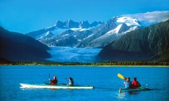 Glacier view sea kayaking Kayak3 Alaska Travel Adventures