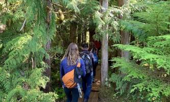 Rainforest trail bike hike adventure hike 2