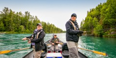 Kenai Riverside Fishing