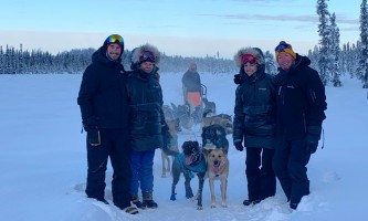 Liz Failor Family on Tour alaska alaskan husky adventures
