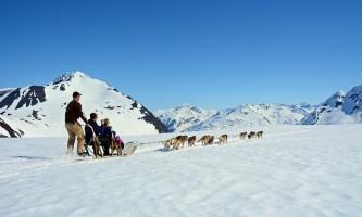 Alpine air alaska girdwood glacier dogsledding DSC 0524 Alaska Channel