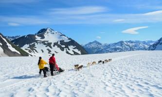 Alpine air alaska girdwood glacier dogsledding Alpine Air Alaska Glacier Dog Sledding Fun Adventure