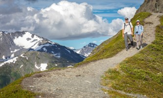 RKP Hiking2018 42 alaska hotel alyeska girdwood resort summer mountain biking hiking trails