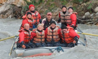 Explore denali rafting Group Rafting Rafing at Denali Park Village