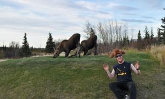 2012 Matt and some baby moose2019