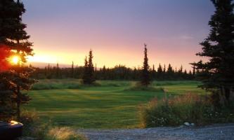 Black Diamond Golf Sun Set on the Green2019