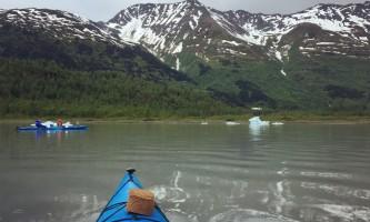 Glacier blue kayak June 2017 Kayak Guide from Guide Perspective PC Erin Henszey2019