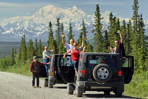Drive the Denali Highway, a road recently ranked #2 worldwide as a 'Drive of a Lifetime' by National Geographic Traveler Magazine.