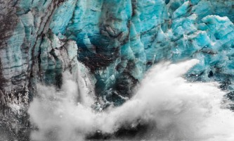 Glacier bay lodge Glacier Break Alaska Channel