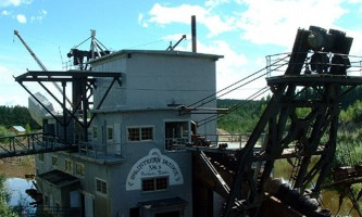 Gold Dredge No 8 Gray Line 0042019