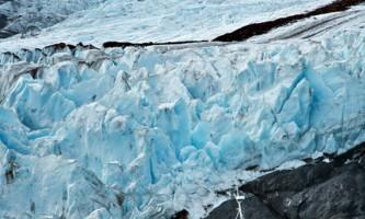 Portage Glacier Portage Glacier Boat with glacier and mountains2019