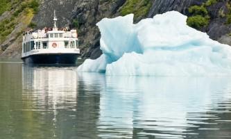 Portage Glacier Portage Glacier Boat and Iceberg2019